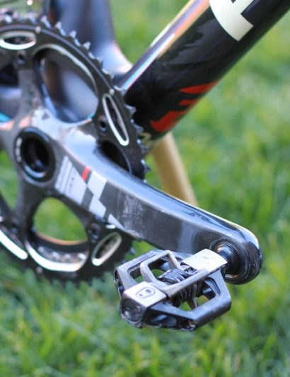 This bike was equipped with crankbrothers' Candy 3 pedals