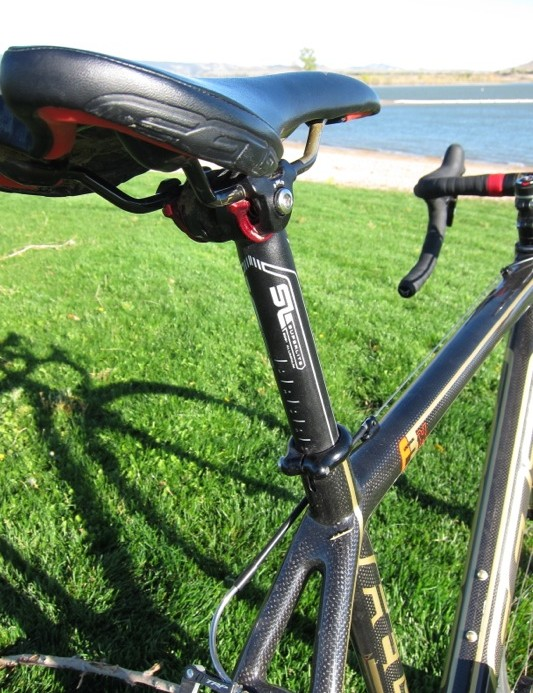 Felt's one-bolt seat post never slipped