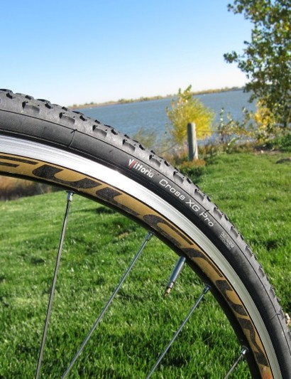 Fulcrum's Racing 5 CX proved solid, albeit heavy; in all a good training wheelset