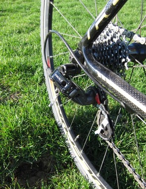 Black Red, just like Trebon and much of the rest of the pro cyclo-cross peloton