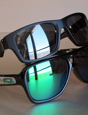 New for 2012 from Oakley's casual range are the Jupiter Squared (top) and Dispatch 2 (bottom) styles