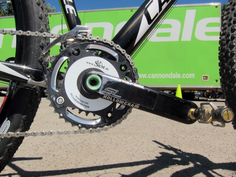 Roadies have been racing and training with power meters for years but we're now seeing the trend carry over into the mountain bike realm