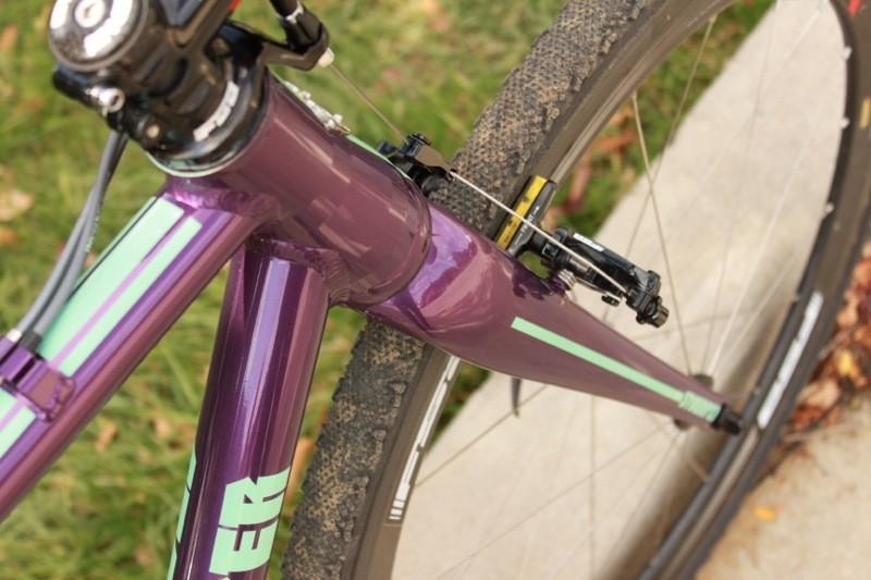 Berden says the front of the bike is plenty stiff