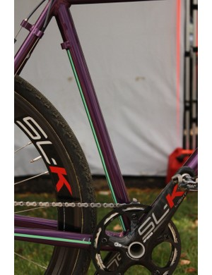 FSA SL-K everywhere and the cool butted seat tube