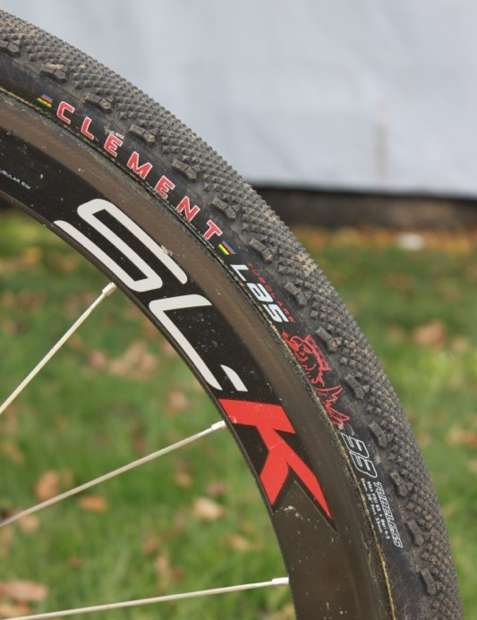 Berden first rode Clement's LAS at round 4 of the USGP of Cyclo-cross series in Fort Collins, CO