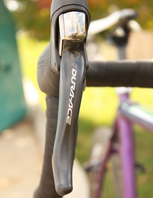 Shimano's Dura-Ace 7900 transmission takes care of shifting