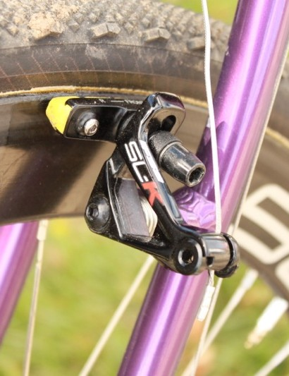 FSA's SL-K cantilever brake with SwissStop Yellow King pads