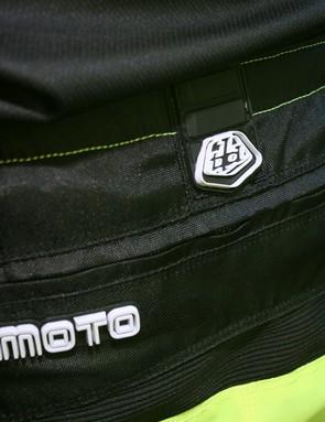 The Moto shorts have a rear zipped pocket too
