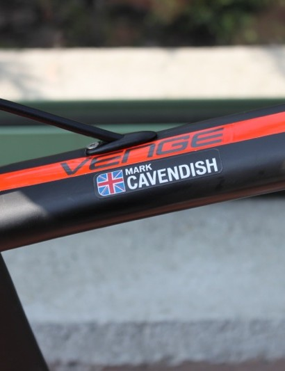 Mark Cavendish's Specialized McLaren Venge bike