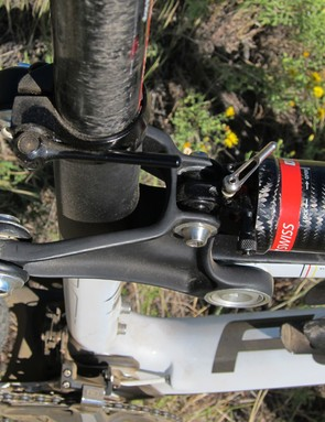There are a lot of sharp bits in close proximity of your legs with the Focus FSL 2.0's novel linkage system. Contact frequency increases as the rear end moves deeper into the travel, too
