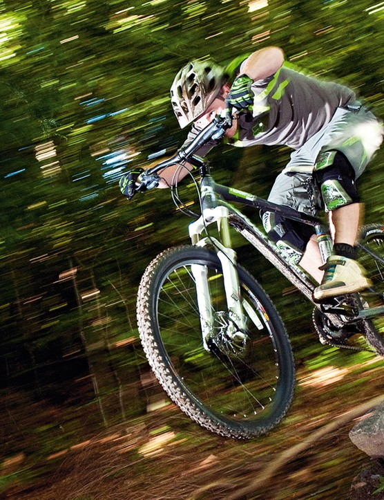 A super high spec for the money and a great gentle performer, but not so good for serious singletrack thrashing