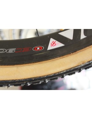 ... Correspond to the numbers on the wheels; all of the wheels are Easton's EC90SL model