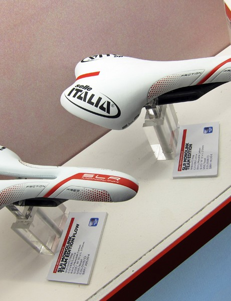 Selle Italia didn't publicize this much but their initial Monolink system included a cutout saddle option in addition to the SLR Monolink Team Edition