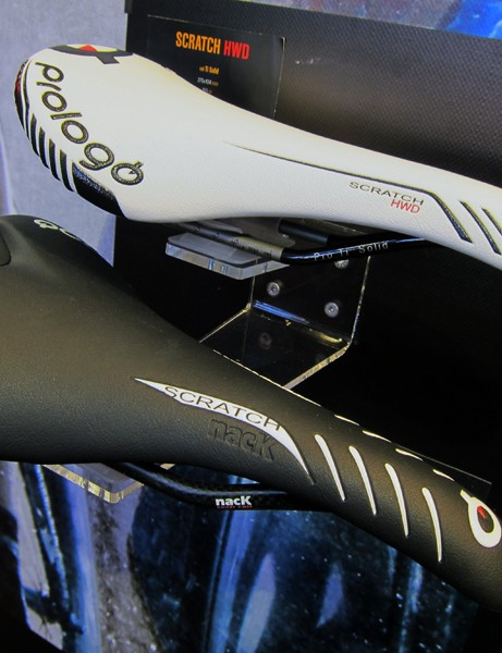 The Prologo Scratch HWD is one of the company's lightest saddles thanks to a carbon fiber base