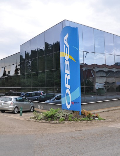 Orbea's HQ in Mallabia, Spain houses their paint shop, assembly lines and offices