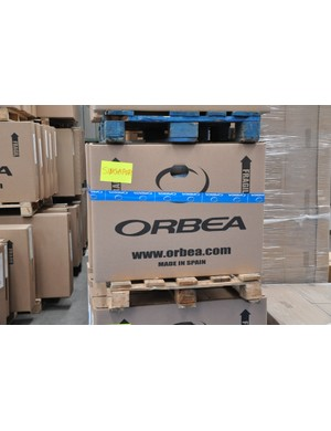 Possibly a translation mistake - Orbea don't actually make any of their product in Spain