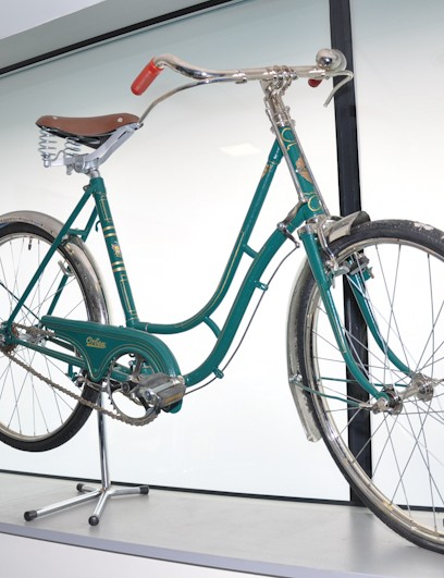 Though no guns were on display at the Orbea facility, there were a few of their original bikes