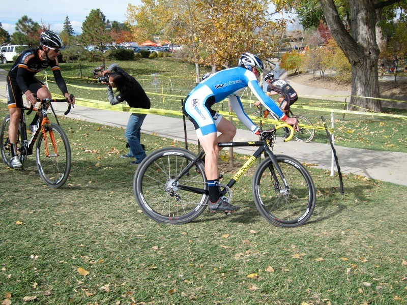 This season we've been trying to ride disc brakes in all cyclo-cross conditions, not just those that suit better braking