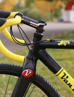 Despite fitting on the 54cm size, we preferred the ride of the 52cm