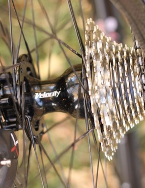 We'd have preferred to see 135mm spacing on the G&T, but then that would have meant two frames for Van Dessel