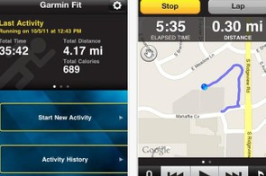 The Garmin Fit app gives you all the benefits of a GPS device for just just 69p