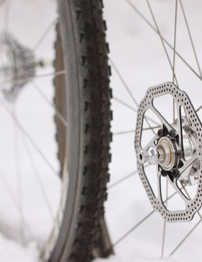 Carbon disc tubulars; we can think of no better upgrade for a muddy 'cross race