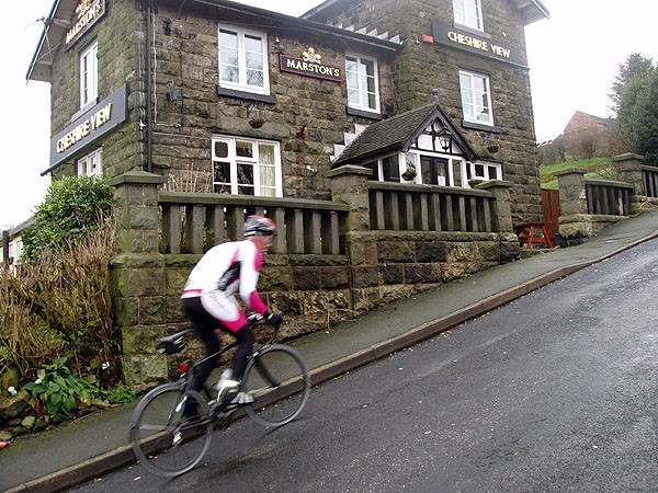 Riders will know when they've hit the Mow Cop