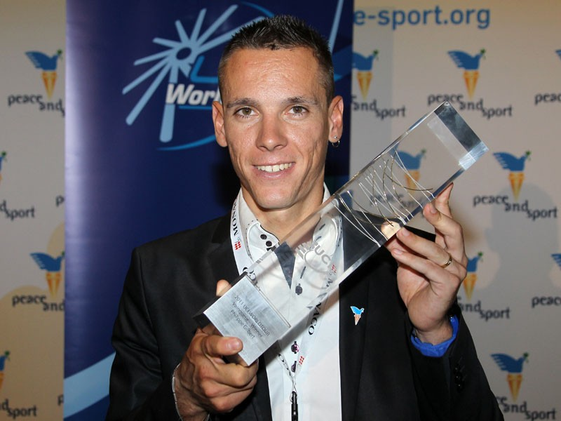 Philippe Gilbert won this year's Velo d'Or