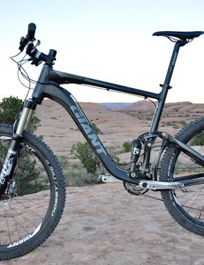 Right out of the box, the Trance X1 is a trail-worthy ride