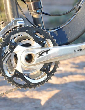 Shimano's XT cranks shifted with precision