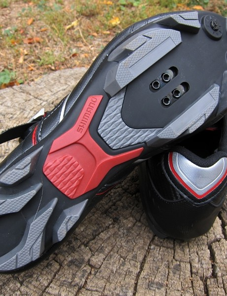 The outsole of the Shimano SH-XC50N shoes should work well for cyclo-cross