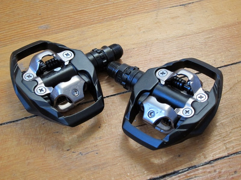Shimano's PD-M530 pedals provide the same shoe stability as the XT and XTR trail pedals but at a much, much lower price