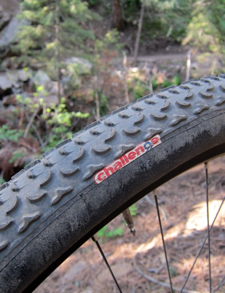 Challenge's new MTB One mountain bike tubulars are offered in both 26in and 29in diameters, both with a very fast rolling, low-profile tread that's well suited for hardpack