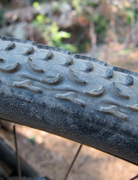 Our test tires were built before production tooling was in place at Challenge's factory so imperfections like these shouldn't be found on consumer versions. Challenge's tubular 'cross tires are generally of much better build quality
