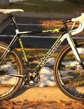 Cannondale's new disc brake equipped SuperX prototype