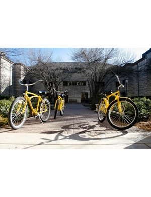 Southwestern University's Pirate Bikes have become an admissions perk