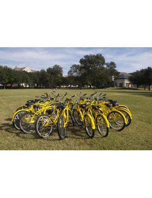 Southwestern's Pirate Bike fleet