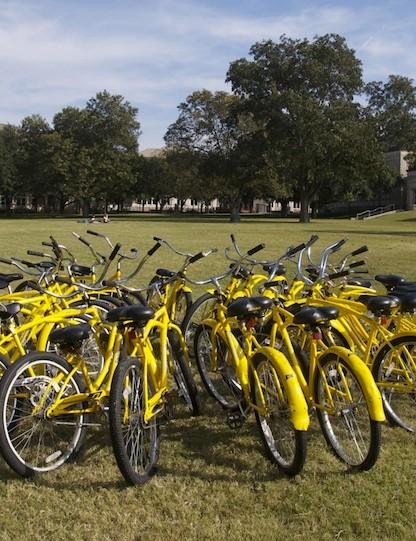 Southwestern's Pirate Bike fleet