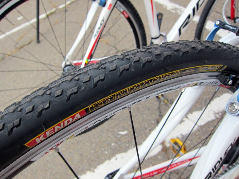 Stan's NoTubes Elite Cyclocross Team rider Jake Wells says he uses about 40cc of sealant for new clincher tires and 30cc for ones that had already been sealed up