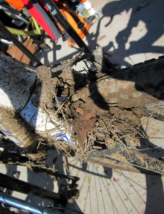 So you say disc brakes have no place in cyclo-cross, eh?
