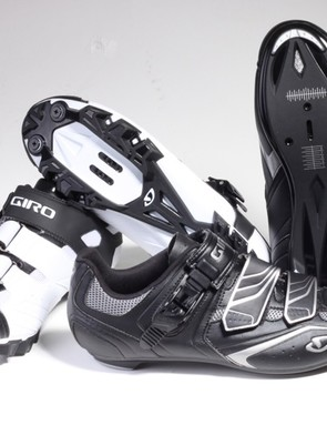 Giro's Privateer and Apeckx HV third-tier shoes