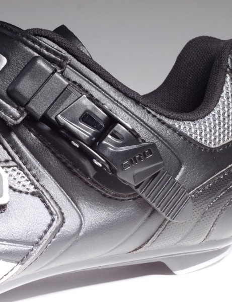 Both shoes use a less expensive plastic buckle; still, all of the parts are replaceable