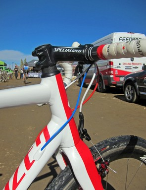Specialized fit the CruX E5 with a tapered front end