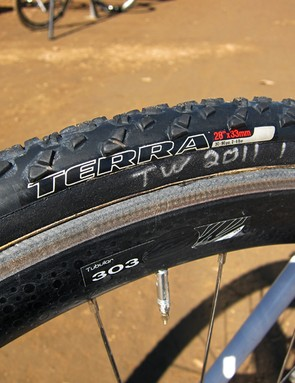 Specialized have three tubular tires in their 'cross quiver to suit all conditions, with the Terra model aimed at the muddiest and loosest ground