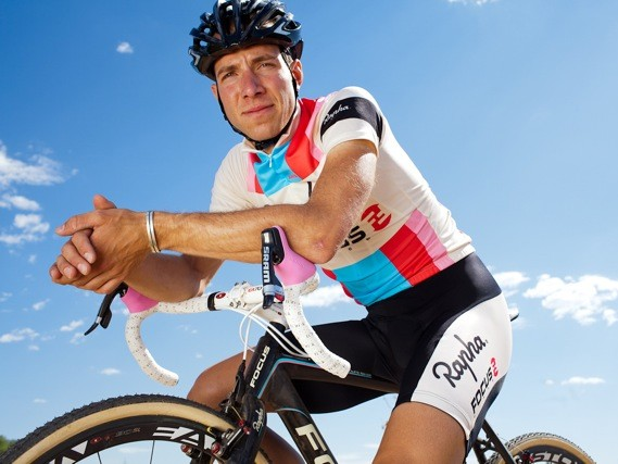 Rapha-Focus's Jeremy Powers is a well known face on the US cyclo-cross circuit