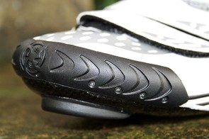 The small front vents of the Bont a-two road shoes