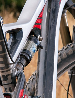 Fox Triad shock sorts out the rear suspension