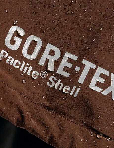 Gore-Tex mates a PTFE layer with a thin PU liner. This prevents contamination of the active layer by sweat oils and the like
