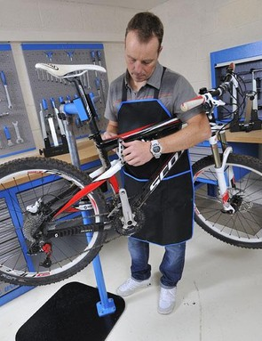 Justin Loretz shows you how to keep your carbon frame and components in good working order