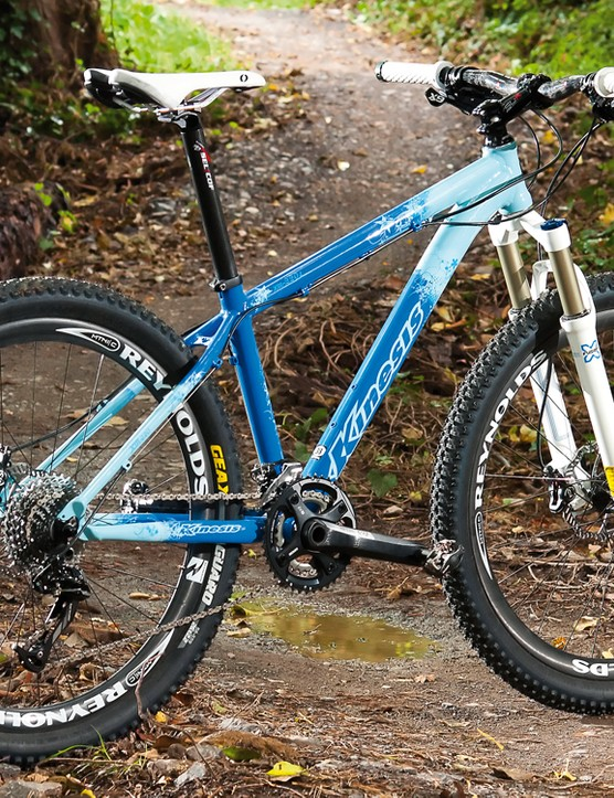 The KM220 L is a great frame to build a race and trail capable ride